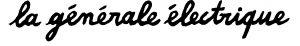 Logo La Générale Électrique